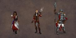 Mystic, Thief, Riot Guard